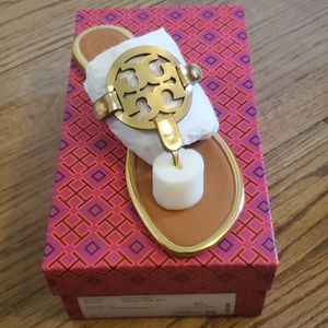 Tory Burch Miller Gold Mirror Metallic